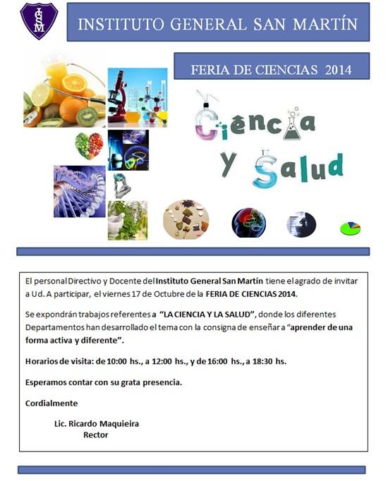 Invitacion Feria IGSM 2014