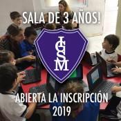Sala de 3 Años- Abierta la inscripción 2019!